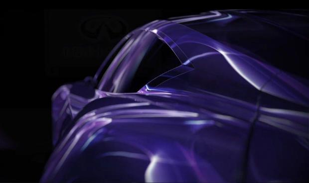 Infiniti EMERG-E Concept teasers