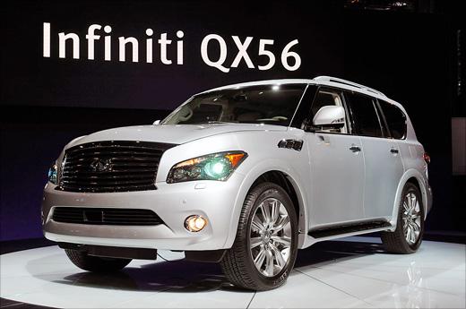 NYIAS 2010: Infiniti QX56