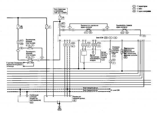 Схема управления двигателем