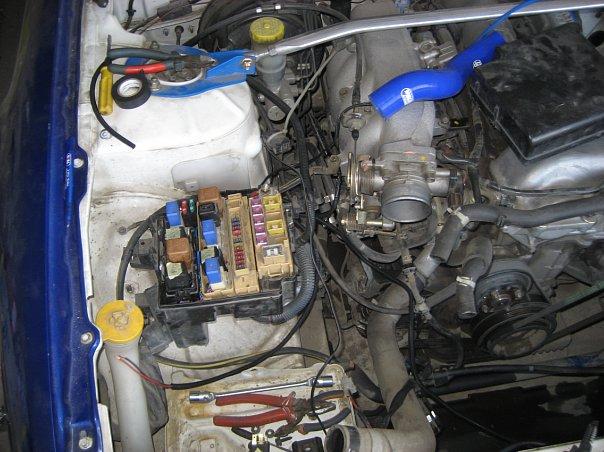 Подключение вентиляторов в Nissan Silvia