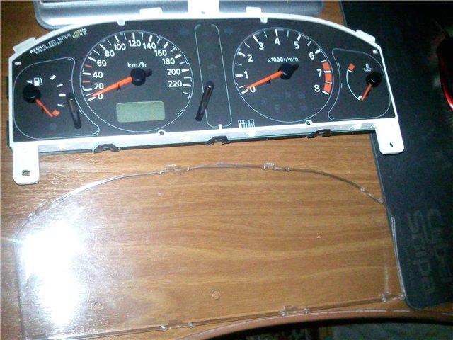 Тюнинг Nissan Almera II N16. Делаем белую подсветку панели приборов