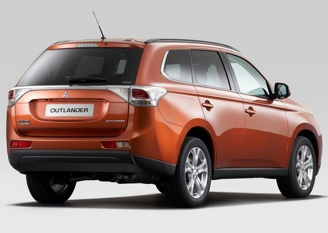 Mitsubishi Outlander 2013 собирается в Пекин - faqnissan.ru