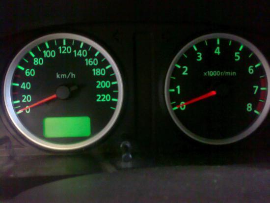 Переделка света и подсветки в салоне Nissan Almera N16