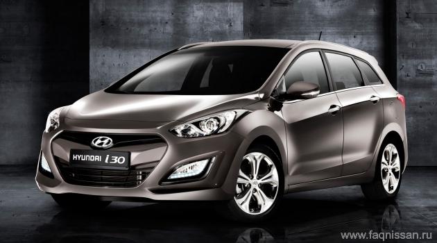 Hyundai представит Московском автосалоне новые универсалы i30 и i40 - faqnissan.ru