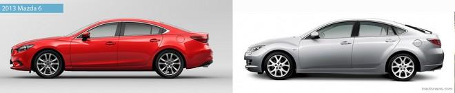 Mazda6 2013 против старых Mazda6 - faqnissan.ru