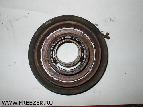 Замена подшипников шкива компрессора Nissan