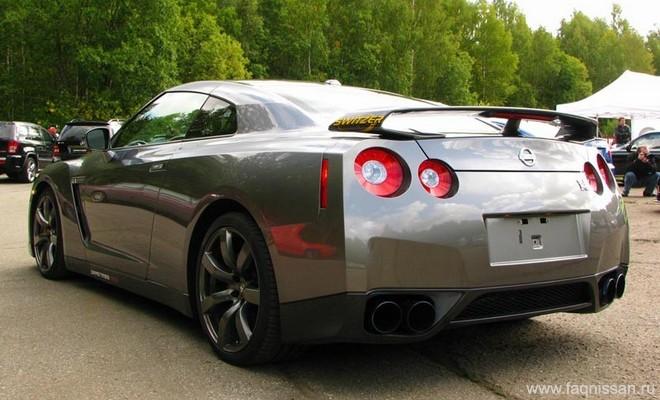 Nissan GT-R с тюнингом Switzer - faqnissan.ru