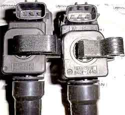 Встроенный коммутатор,Система зажигания Nissan: различия катушек зажигания