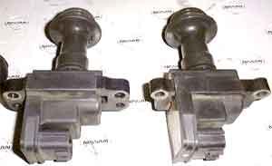 Nissan: система зажигания, различие сердечника RB20DE L/B и остальных моторов