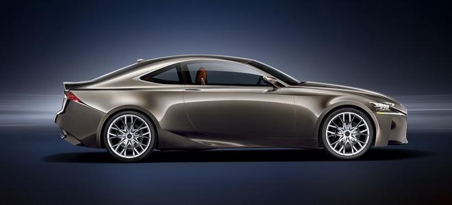 Lexus представил свой новый концепт LF-CC