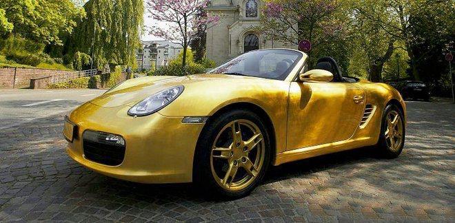 Мода на золотые автомобили