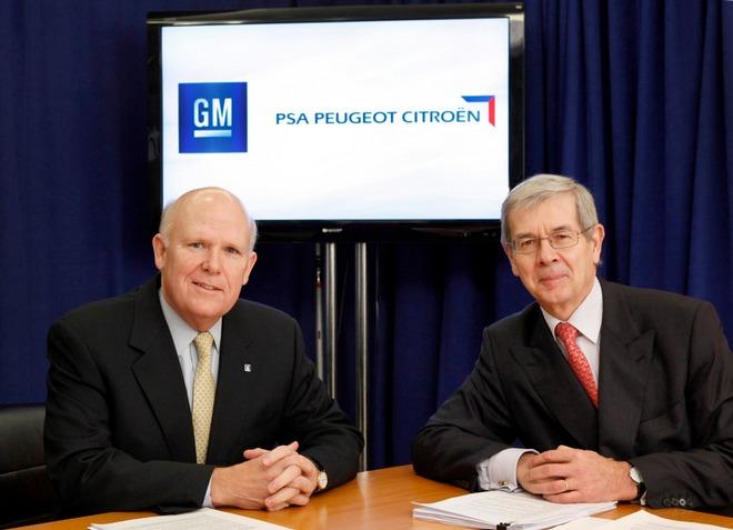 GM � PSA ��������� ������� ���������� ����������� ����� Opel � Peugeot-Citroen
