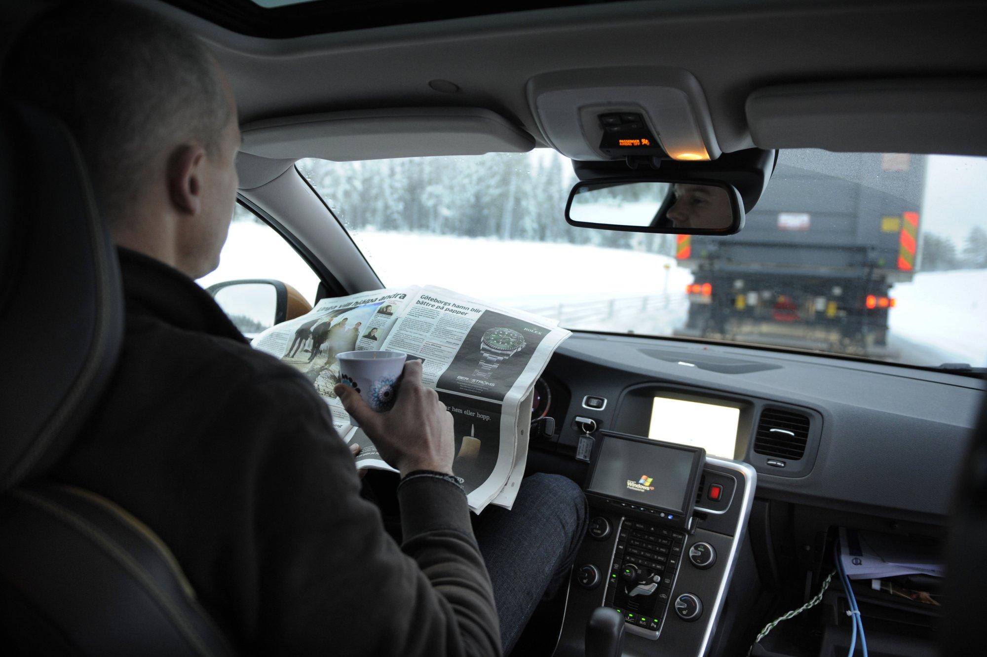 Автопилот для пробок от Volvo