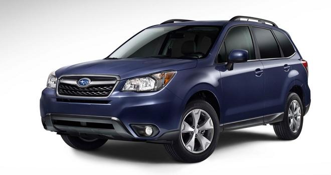 Subaru Forester четвертого поколения
