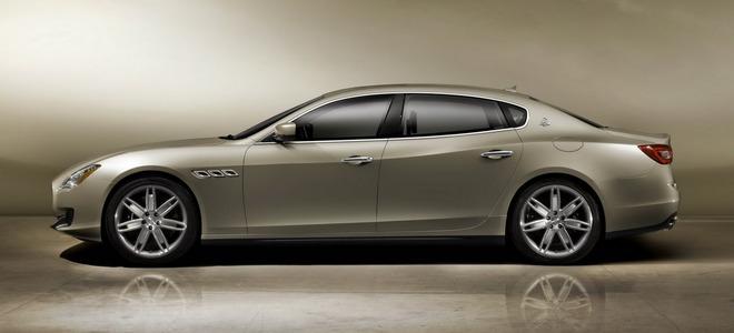 Maserati показала новый Quattroporte