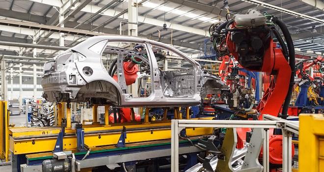 Автомобильный завод в Китае