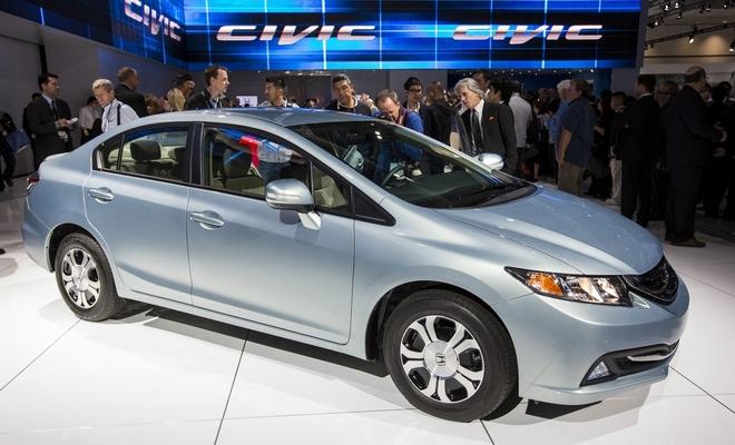 Honda показала обновленный Civic