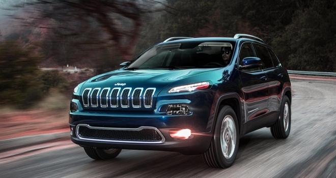 Новый внедорожник Jeep Cherokee SRT