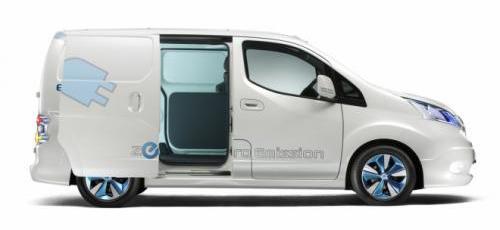 Nissan представил концепт фургона E-NV200