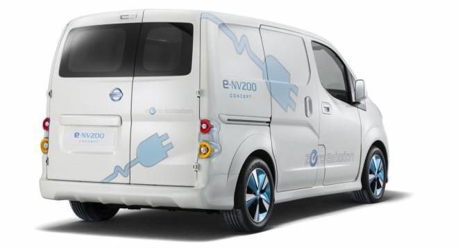 Nissan ���������� ������� ������� E-NV200