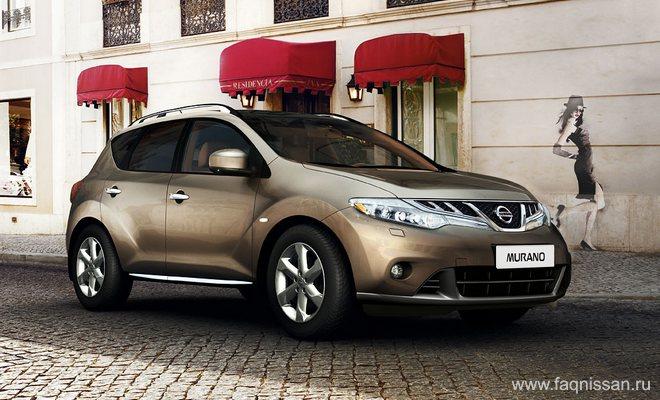 Обновленный Nissan Murano будет шокировать