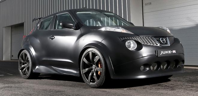 Nissan собрал первый серийный суперкроссовер Juke-R