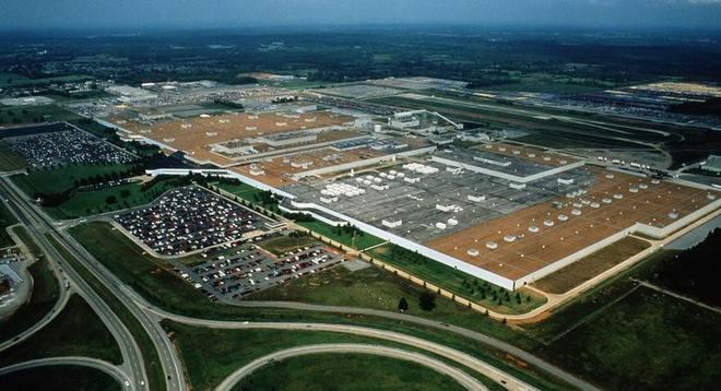 Завод Nissan Смирна США