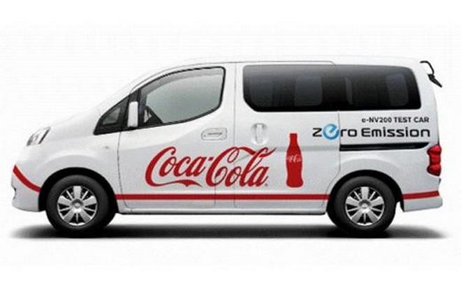 Nissan E-NV200 Coca Cola