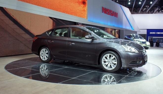 Новый Nissan Sylphy