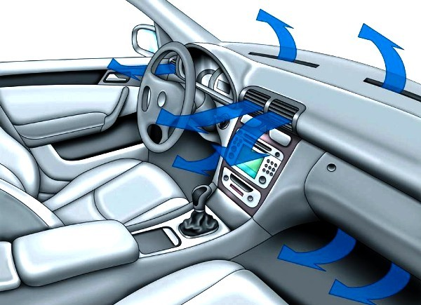 Система ароматерапии Nissan