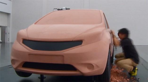 Как делают Nissan из глины