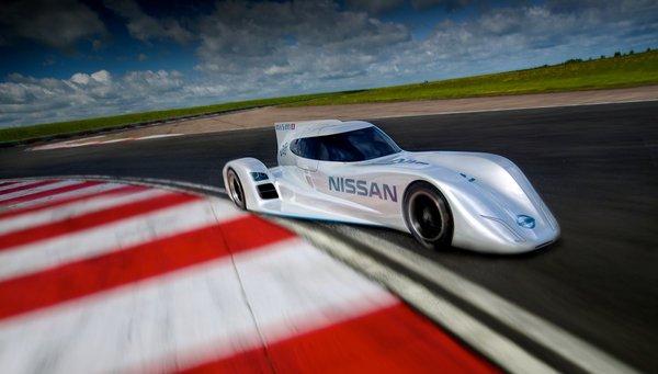 Автомобиль от компании Nissan для гонок Ле-Ман 24 превзойдет Ferrari