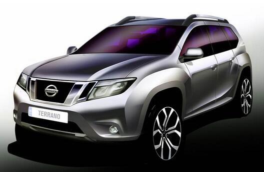 Как будет выглядеть будущий Nissan Terrano (Duster)