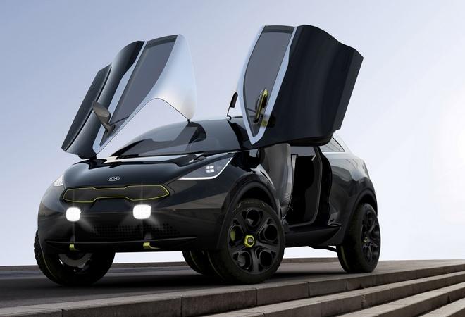 Kia Niro станет конкурентом Nissan Juke