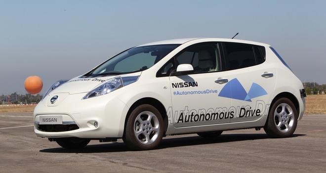 Автономный Nissan Leaf
