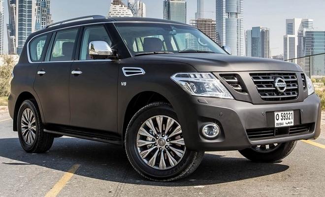 Nissan показал миру рестайлинговый внедорожник Patrol