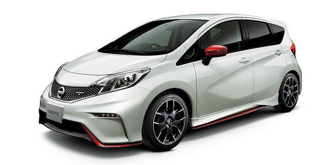Nissan показал Note Nismo