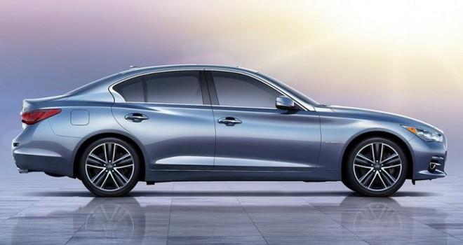 Infiniti покажет купе Q60 на автосалоне в Детройте 2015