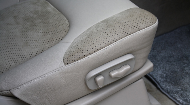 Перешивка сидений в Nissan Pathfinder R51 2008
